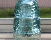 Antique Glass Great North Western Telegraph Insulator