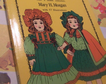 1973 how to dress an old fashioned doll