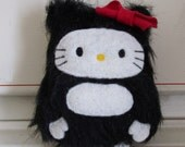 Hello Kitty Little Bigfoot Sasquatch Plush