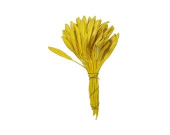 Millinery Flower Stamen Czech Republic Flower Peps 45 Lily Yellow  MN-CZ63-Y
