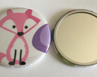 Pocket Mirror - Adorable FOX