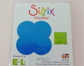 Sizzix Sizzlits Die Cut Envelope // Square with Petals