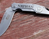 Personalized Knife,Folding Knife,Best Man Gift,Pocket Knife,Hunting Knife,Survival Knife,Fishing Knife,Groomsmen Gift,MTA864,SET of 5