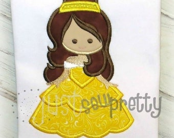 Bell of the Ball Embroidery Applique Design