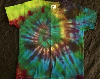 Tie Dye Cotton T-Shirt TODDLER 3T