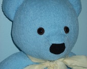 Reserved Listing for Michelle Blue Terry Cloth Teddy Bear