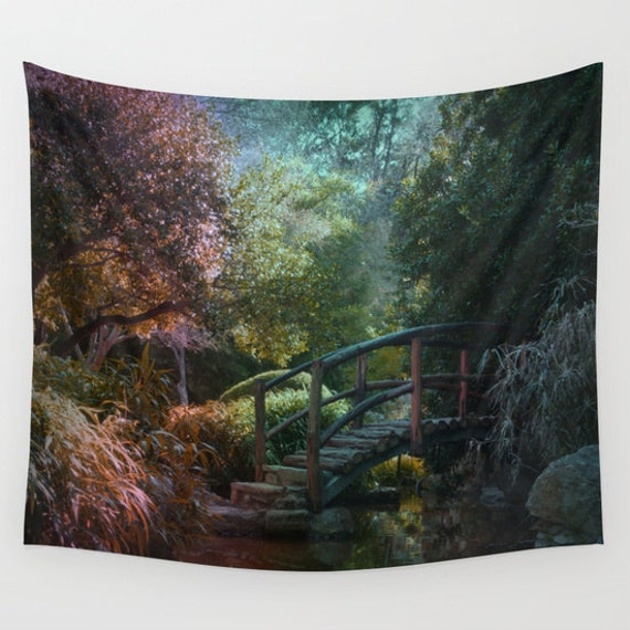 forest tapestry wall hanging