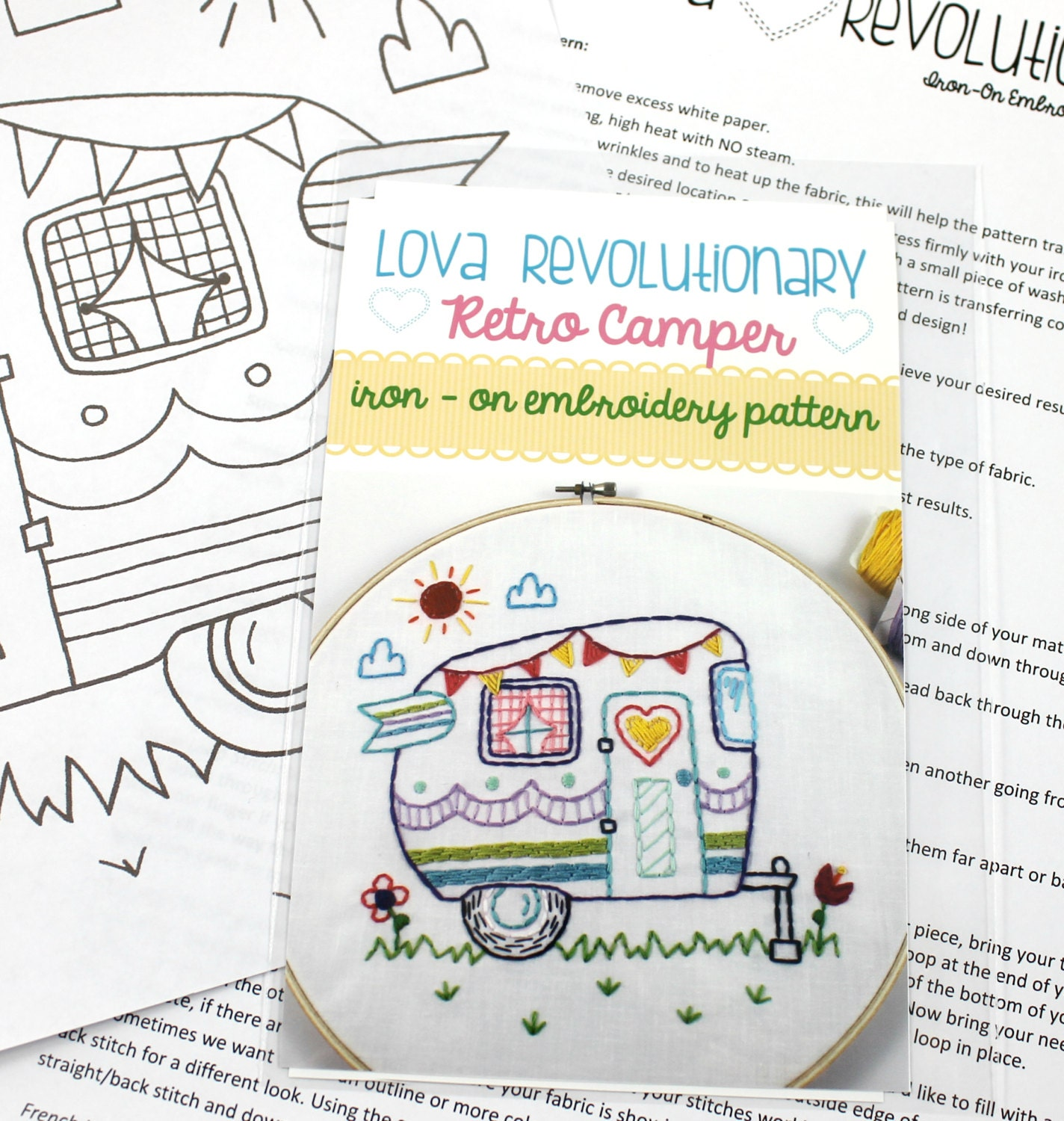 iron on embroidery patterns from lovahandmade on etsy studio