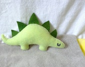 Mini Stegosaurs - Green