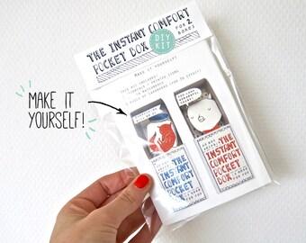 DIY kit - Green:  for 2 Instant Comfort Pocket Boxes