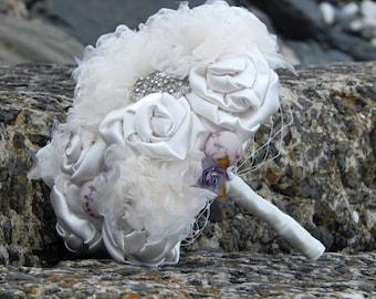 Ivory & Mauve Bouquet