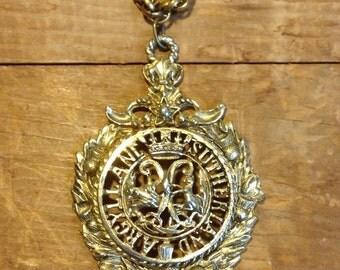 Rare Coro World War II Scottish Regiment Commemorative Medallion