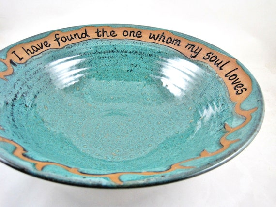 Pottery Wedding Gifts: Pottery Wedding Gift Anniversary Commitment By