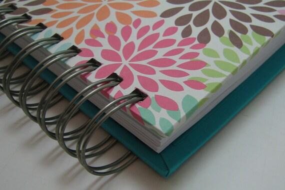 Agenda/ Planner/ Weekly Planner/ Organizer Planner/ Weekly Agenda/ Unique Planners/ Organizer/Wirebound Planner/ To Do List/ Colorful Mums