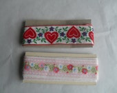 Decorative Woven wide Trim Craft Two NOS