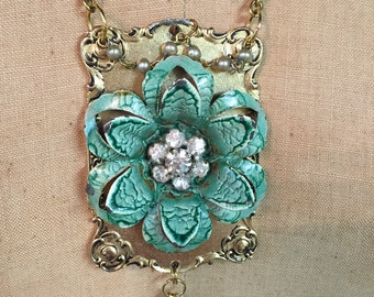 Gorgeous Upcycled Vintage Necklace