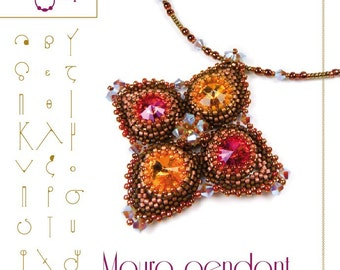pendant tutorial / pattern Mauro  pendant...PDF instruction for personal use only
