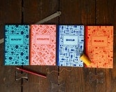 Letterpress Tools of the Trade Journal - Collect All Four