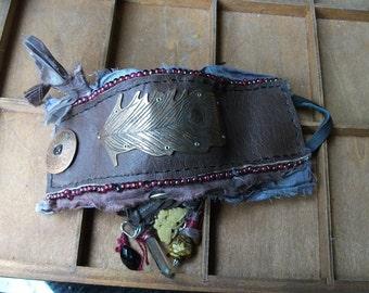 Victorian Peacock Bracelet