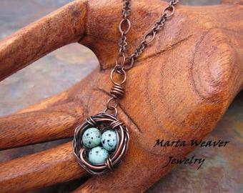 Bird Nest TUTORIAL, Wire Wrap Nest Digital Instructions, DIY, Wire Jewelry Pattern, Wire Wrap Nest Pendant, Wire Wrapping Jewelry Tutorial