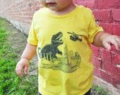 Kids Dinosaur Attacks KC T-Shirt