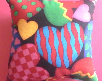Dream Pillow Playful Hearts