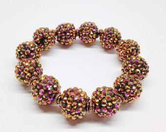 Basketball Wives Inspired Sparkle/Bling  Strech Bracelet