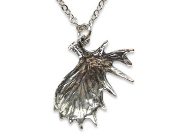Silver Shed Moose Antler Necklace Moose Antler Pendant Moose Antler Jewelry 293