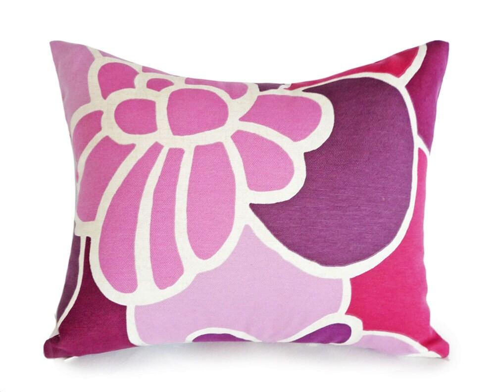 Pink Purple Decorative Pillows : Purple Pink Pillow Covers Purple Throw Pillow Plum Mauve