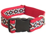 Midnight Lantern Wide Dog Collar Dad's Tie 1.5""