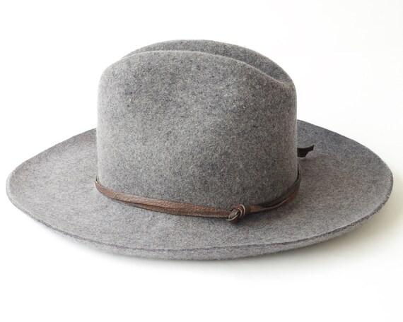 Cowboy Hat Wool Felt Hat Men's Hat Women's Hat Western Hat Travel Hat Packable Hat Crushable Hat Wool Hat Cattleman Crease