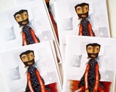 """Doll Note Cards """"Cloe"""""""