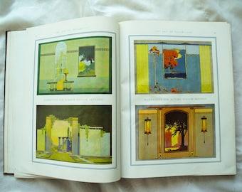 Vintage antique book Art of Decorating Windows 1920s 1924 hardback RARE art deco merchandize display