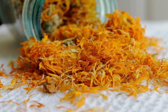 Dried calendula flowers | 5 pounds | Dried Calendula Petals | Dried Calendula Whole Flowers | Calendula Officinalis | Calendula Soap, Salve