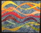 Light Races Art Quilt
