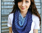 Nerida Knitted Shawl Pattern Instant Download