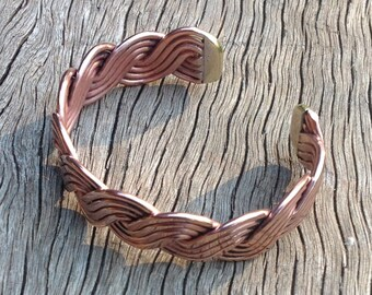 Copper Therapeutic Wellbeing Bracelet Any size