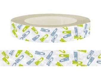 Masking Tape / Washi Tape / Deco Tape - 10mm - Stationery Theme