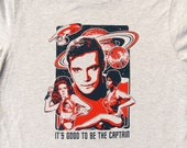 It's Good to Be the Captain Men's Captain Kirk Tshirt