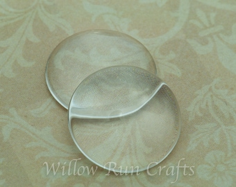 50 Pack 20mm Glass Circle Cabochon (09-11-670)