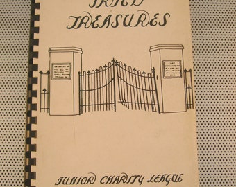 "Rare Vintage 1957 ""Tried Treasures"" Cookbook~Junior Charity League, Union, South Carolina"