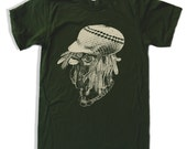 Mens Rasta ROOSTA american apparel T Shirt S M L XL (16 Colos Available)