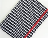 Kindle Cover Hard cover, Nook Glowlight Cover, Kindle Paperwhite, Wisconsin Case, Alabama Case, all sizes, Houndstooth Crimson eReader Cover
