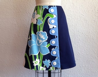 SALE Daphne asymmetrical a-line skirt Sz 10