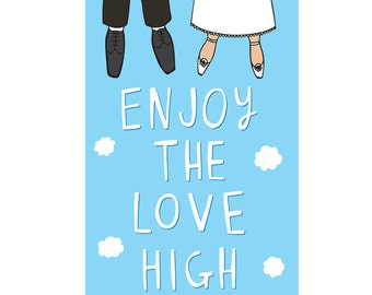 Wedding Card - Enjoy The Love High Man and Woman Version