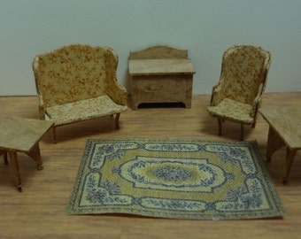 Clearance Item 20% off - Quarter Inch Furniture Kits Colonial Living Room