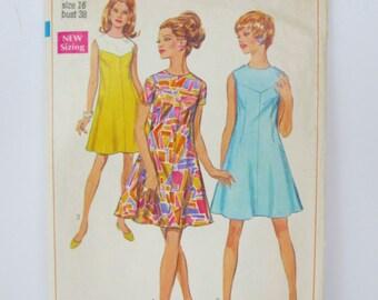1968 Simplicity Dress Pattern