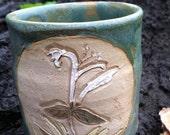 honeysuckle mug.  teacup