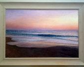 Florida Landscape/Seascape Oil Painting, Sunrise, Jupiter Beach, Jupiter Rising