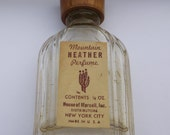 Vintage Perfume Bottle,Mountain Heather Perfume New York City
